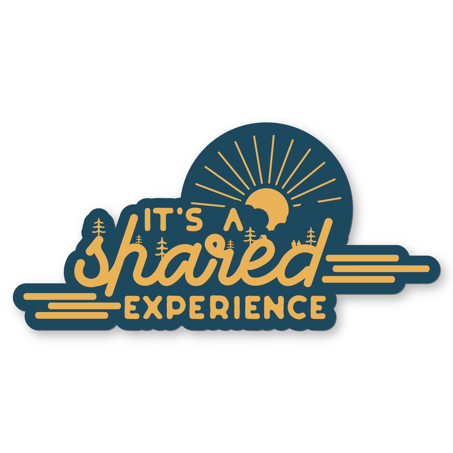 (2) Shared Experience Sticker