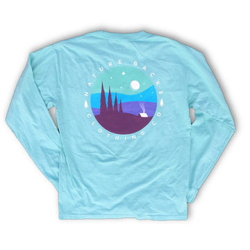 Chalky Mint Long Sleeve ⛺ - Nature Backs