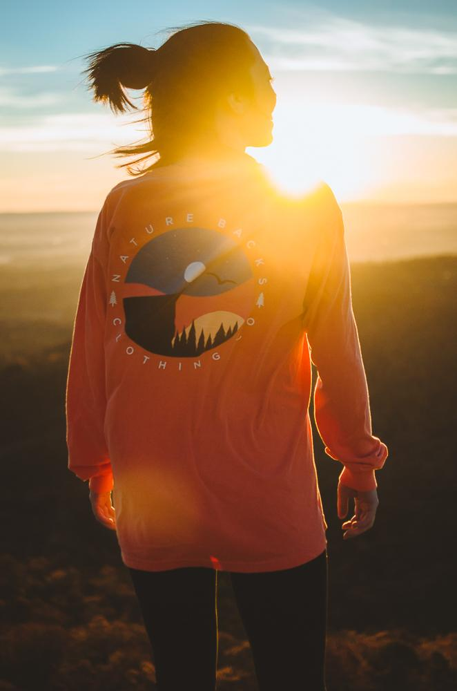 Sunset Long Sleeve ☀️ - Nature Backs