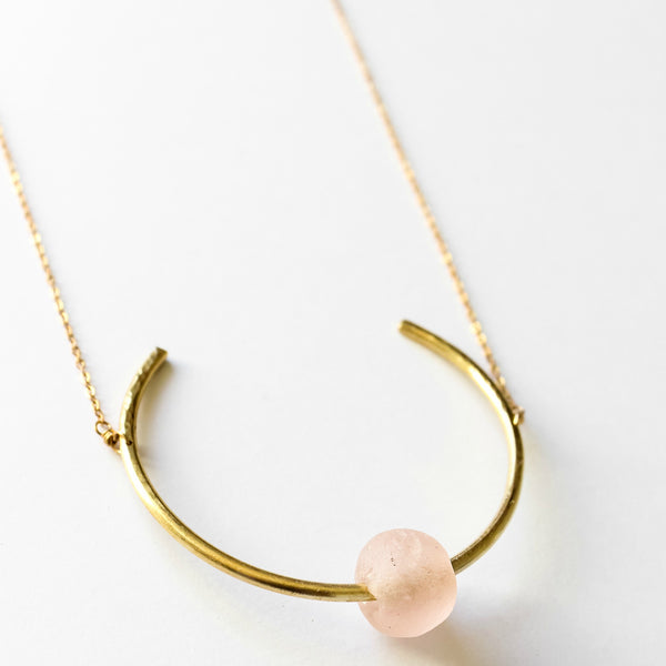 Kimberley Necklace Blush