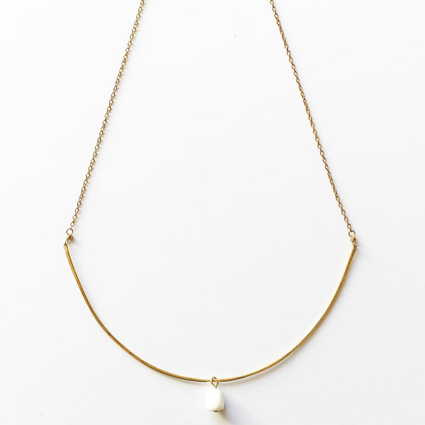 Desert Sky White Necklace