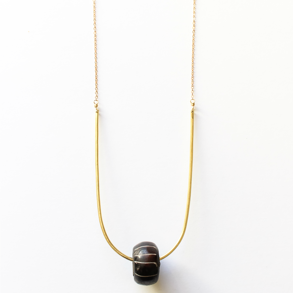 Sahara Necklace Stripe