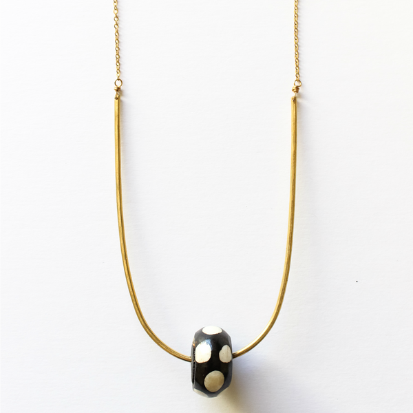 Sahara Necklace Polka Dot