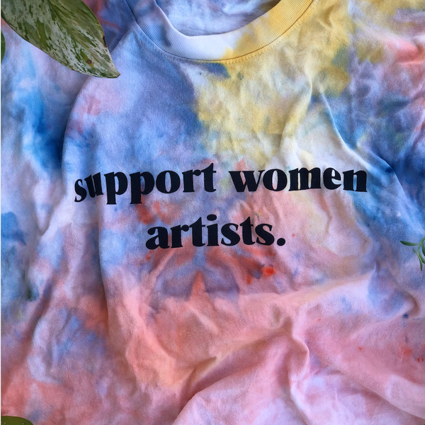 SUPPORT WOMEN ARTISTS TEE