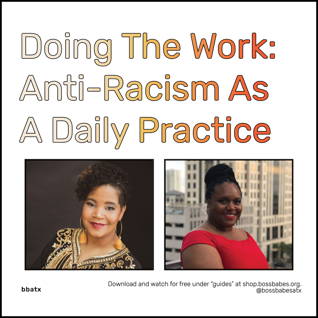 ANTI-RACISM AS A PRACTICE: DIGITAL TALK