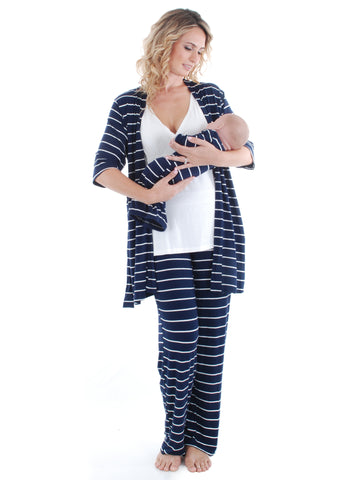 Roxanne 5-Piece Pajama Set
