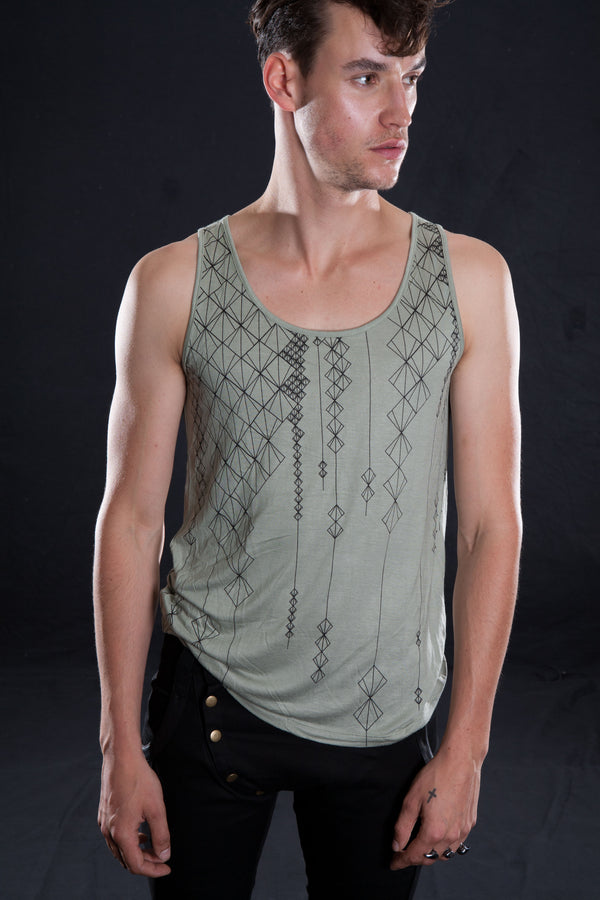 LANTERN SINGLET Tank Top | littleKINGDesigns