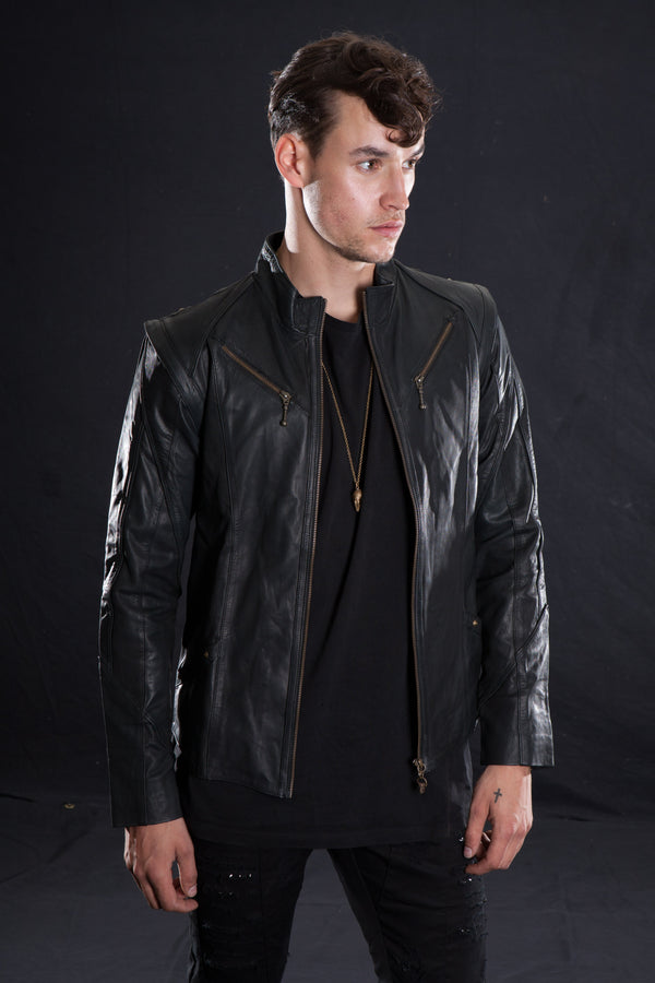 TRYST JACKET Leather Jacket | littleKINGDesigns