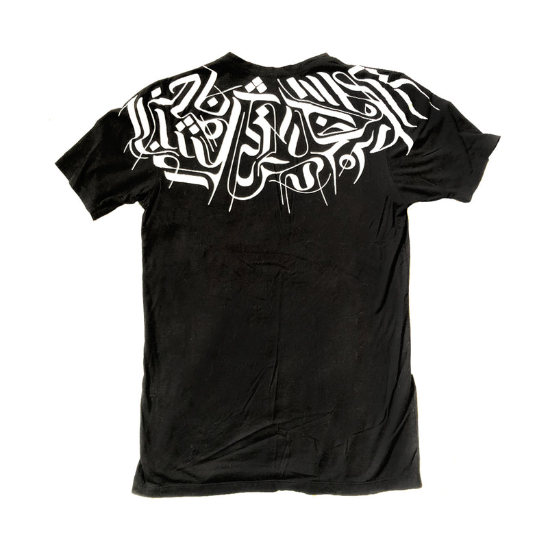 BLACK / MESHKI T-SHIRT T-Shirt | littleKINGDesigns