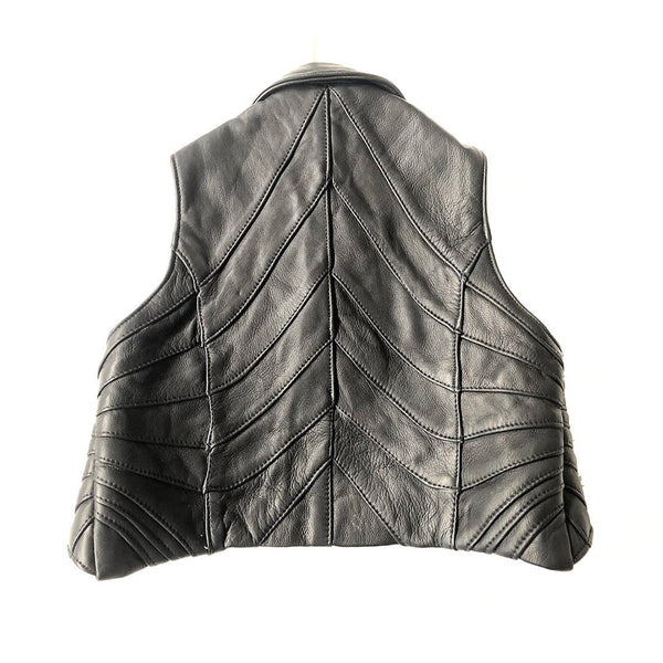 RISING SUN BOLERO Leather Vest | littleKINGDesigns