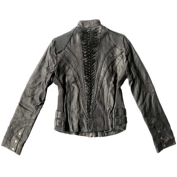 MAHARAH JACKET Leather Jacket | littleKINGDesigns
