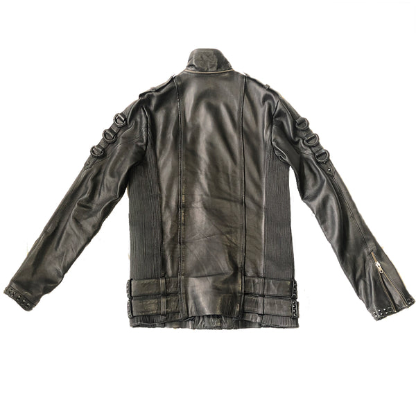 MASK JACKET Leather Jacket | littleKINGDesigns