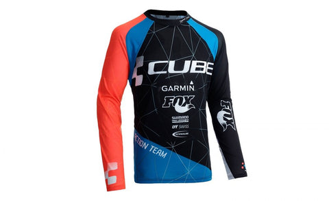 Jersey Cube Action Signature Round Neck