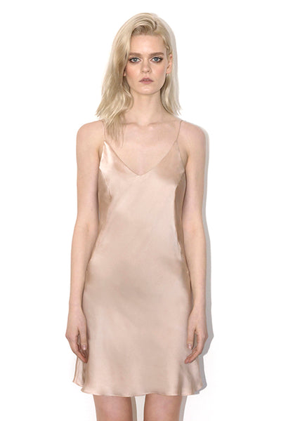 Blessing Mini Dress Champagne