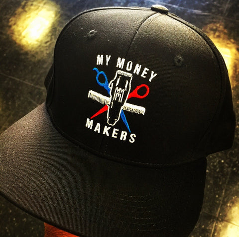 "My Money Makers ""Barber Love"" SnapBack Hat - MyMoneyMakers - 1"