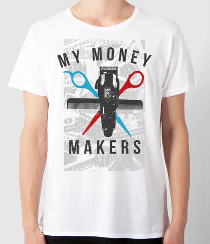 "My Money Makers ""Barber Money Team"" Tee (15% OFF Use Code: BARBERMONEY at checkout) - MyMoneyMakers - 1"