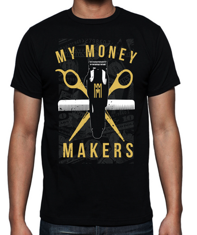 "My Money Makers ""Golden Touch"" Tee *Limited Time Only* - MyMoneyMakers - 1"
