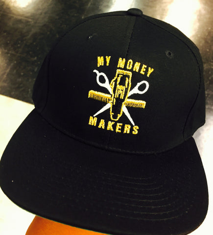 "My Money Makers ""Golden Touch"" SnapBack Hat - MyMoneyMakers"