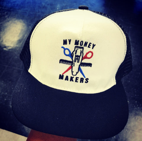 "My Money Makers ""Barber Money Trucker"" Hat"