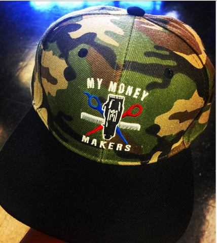 "My Money Makers ""Army Money"" SnapBack Hat - MyMoneyMakers"