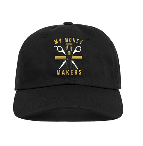 My Money Makers 'Gold Money' Dad Hat