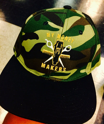 "My Money Makers ""Gold Army Money"" SnapBack Hat - MyMoneyMakers"