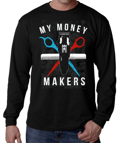 "My Money Makers ""Barber Love"" Long Sleeve - MyMoneyMakers - 1"
