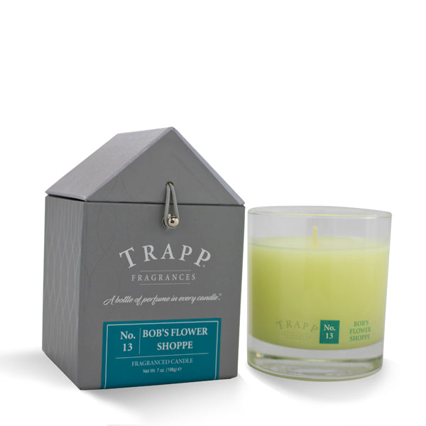 No. 13 Bob's Flower Shoppe Trapp Candle