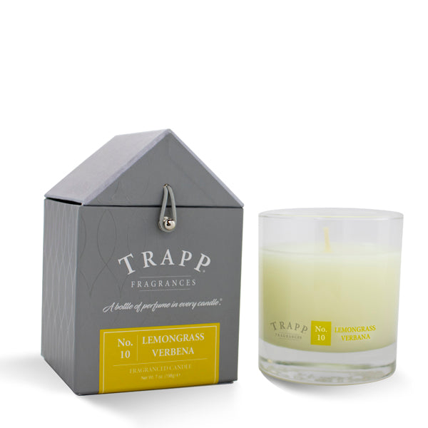No. 10 Lemongrass Verbena Trapp Candle
