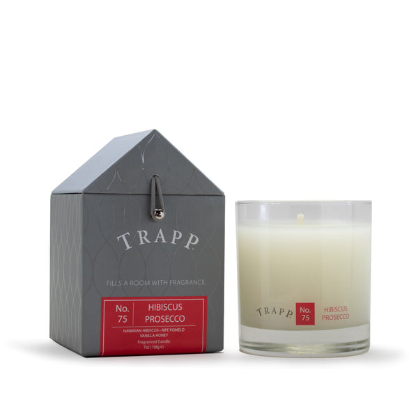 No. 75 Hibiscus Prosecco Trapp Candle