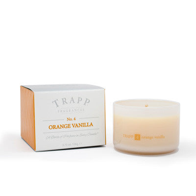 No. 4 Orange Vanilla Trapp Candle