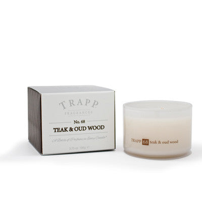 No. 68 Teak & Oud Wood Trapp Candle