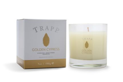 Golden Cypress Trapp Candle