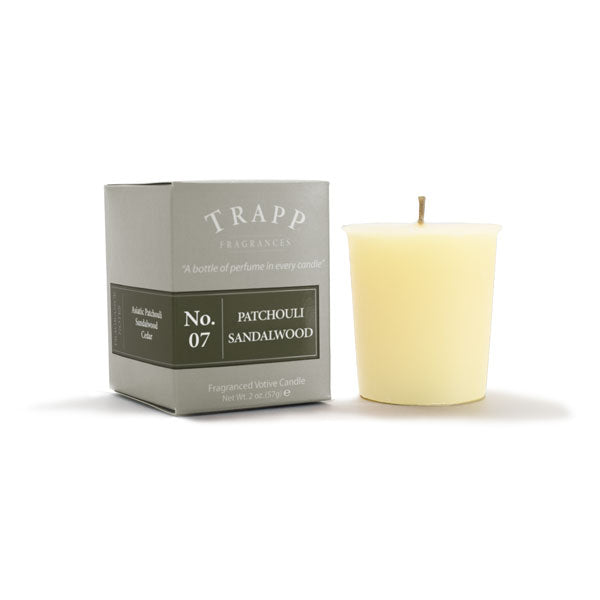 No. 7 Patchouli Sandalwood Trapp Candle