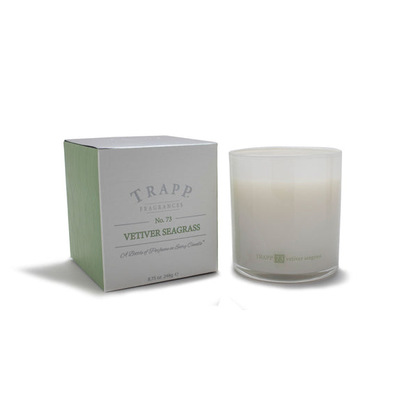 No. 73 Vetiver Seagrass Trapp Candle