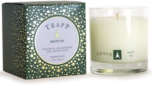 White Fir Trapp Candle