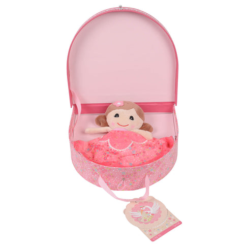 Baby Blankie Doll - Emily (Pink)