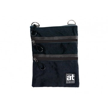 AT Travel 3 Zip Bag - Black