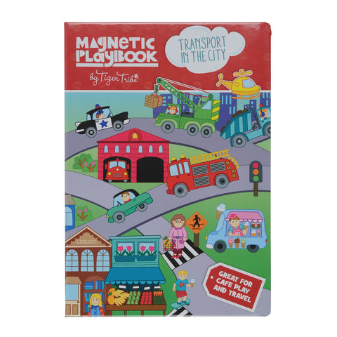 Magnetic Play Book - Transport in the City