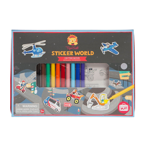 Sticker World - On the move