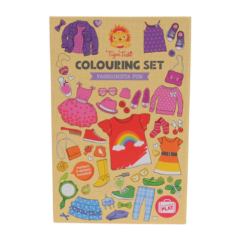Colouring Set - Fashionista Fun