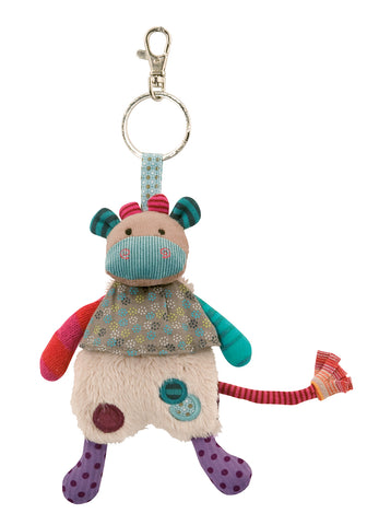 Moulin Roty - JPB Cow key ring