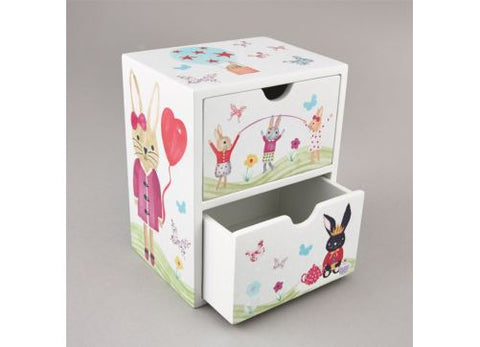 Floss & Rock - 2 Drawer Chest - Bunny