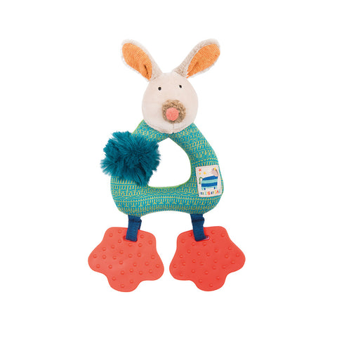 Moulin Roty - Les Zig et Zag Dog ring rattle