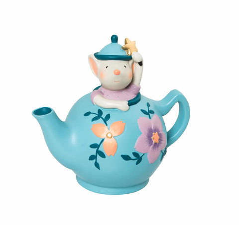 Moulin Roty - Mouse in a teapot money box