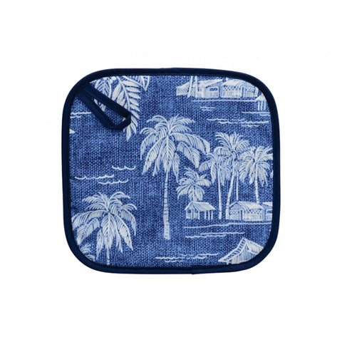 Pot Holder - Tradewinds Navy