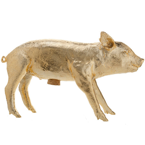 Areaware Bank Pig - Gold Chrome - Bon Genre