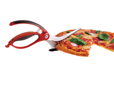 Scizza pizza cutters red - Bon Genre - 3