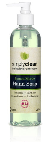 Simply Clean - Lemon Myrtle Hand Wash 250ml