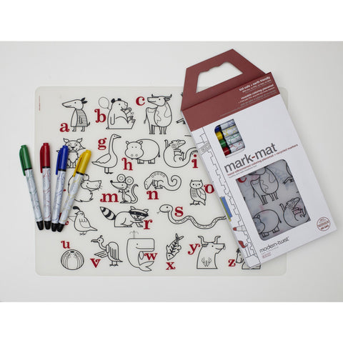 Modern Twist - Mark Mat Placemat With Markers
